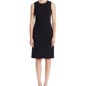 Hugo Boss Black Modest Italian Wool Shift Dress 6